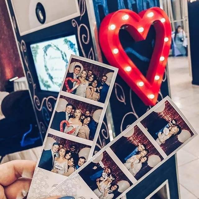 Фотобудка на свадьбу — для идеальной фотосессии