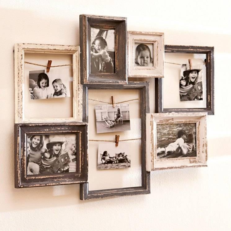 Создаем подарки сами: рамка для фотографий своими руками