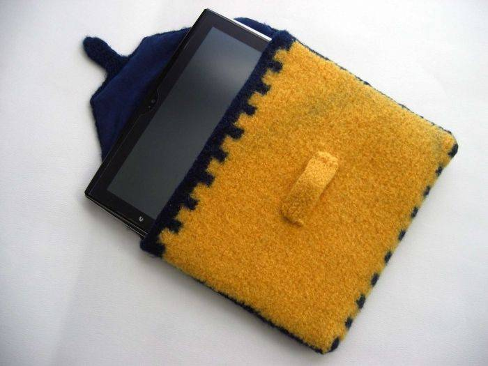 Чехол для планшета своими руками — оригинальный подарок и завидный аксессуар