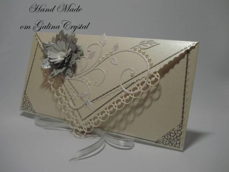 Конверт для денег своими руками: нарядная упаковка для «скучных» купюр!