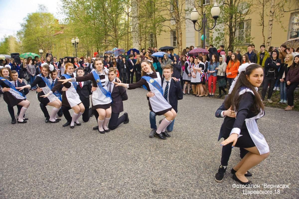 Флешмоб на выпускной: празднуем оригинально!