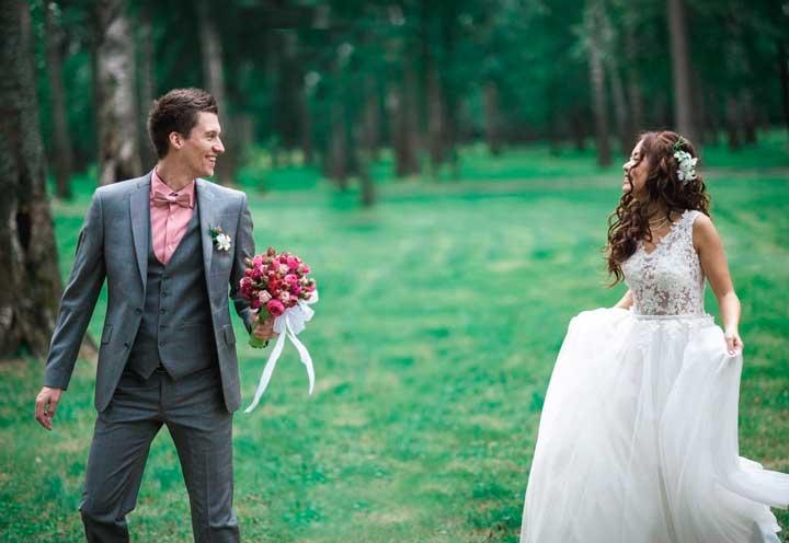 Свадебные игры и конкурсы для молодоженов