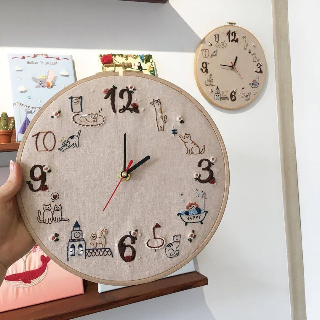 Часы своими руками для оригинального подарка и обновления интерьера