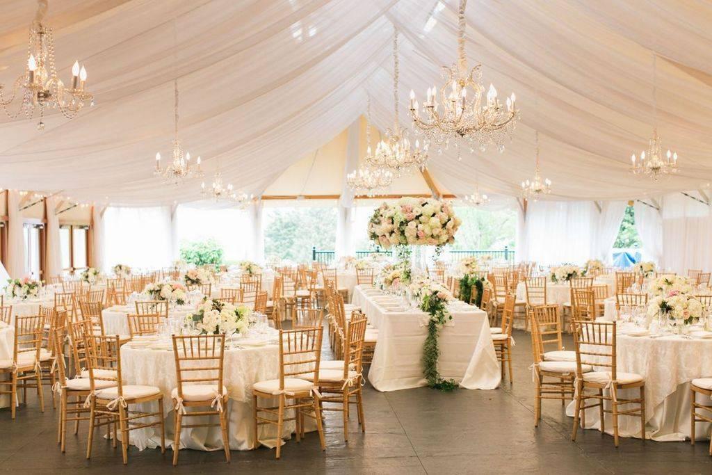 Свадьба в шатре: позвольте себе немного романтики