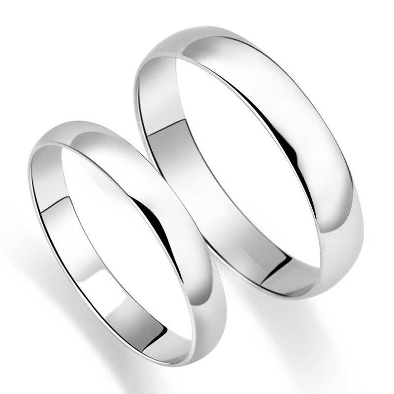 Обручальные кольца из серебра — изысканный выбор