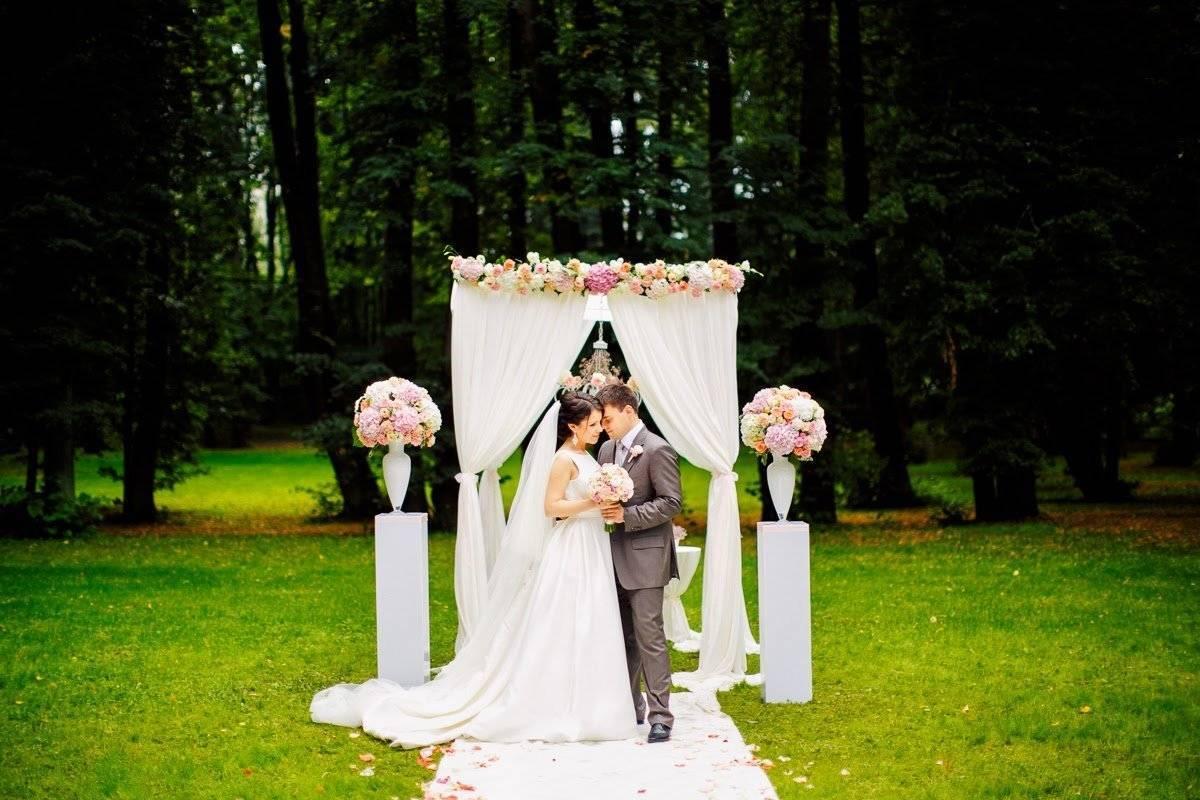 Выездная регистрация брака — как организовать торжество для себя и гостей