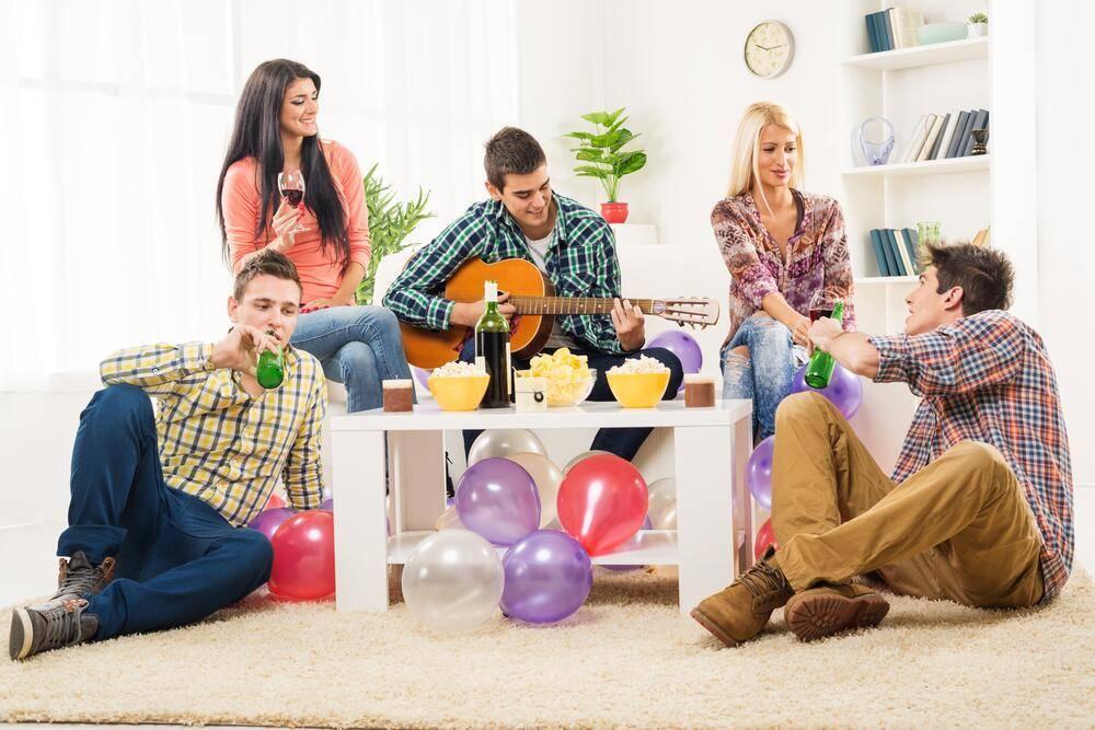 Домашняя вечеринка - это здорово