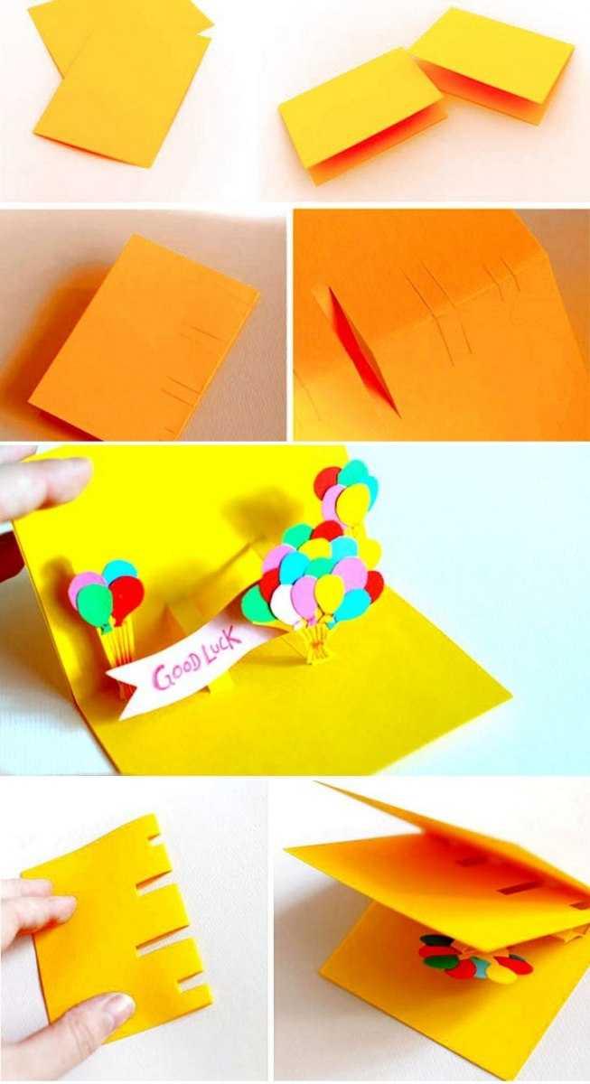 Открытка маме на день рождения своими руками – оригинальный сюрприз с частичкой души