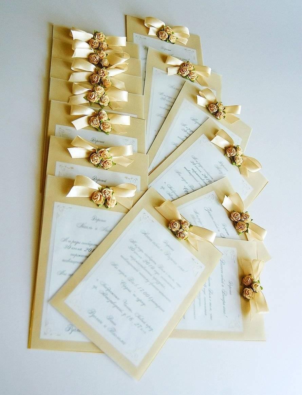 Без штампов: оригинальные приглашения на свадьбу
