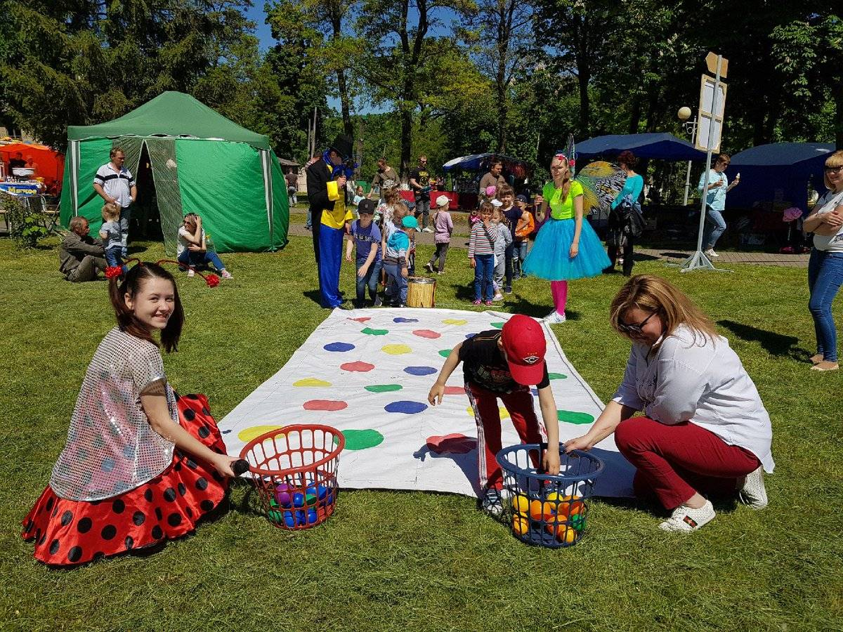 Игровые программы для летнего отдыха детей