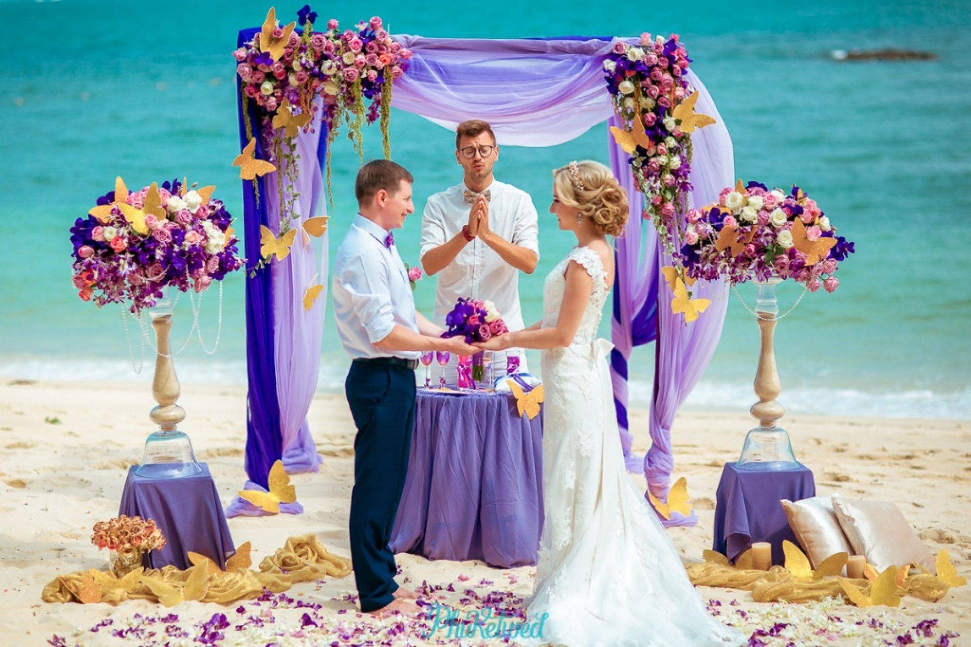 Свадьба за границей: тонкости организации