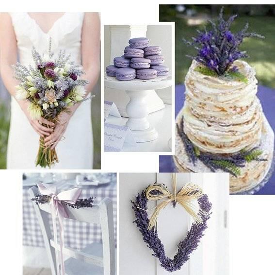 Французская элегантность: свадьба в стиле Прованс