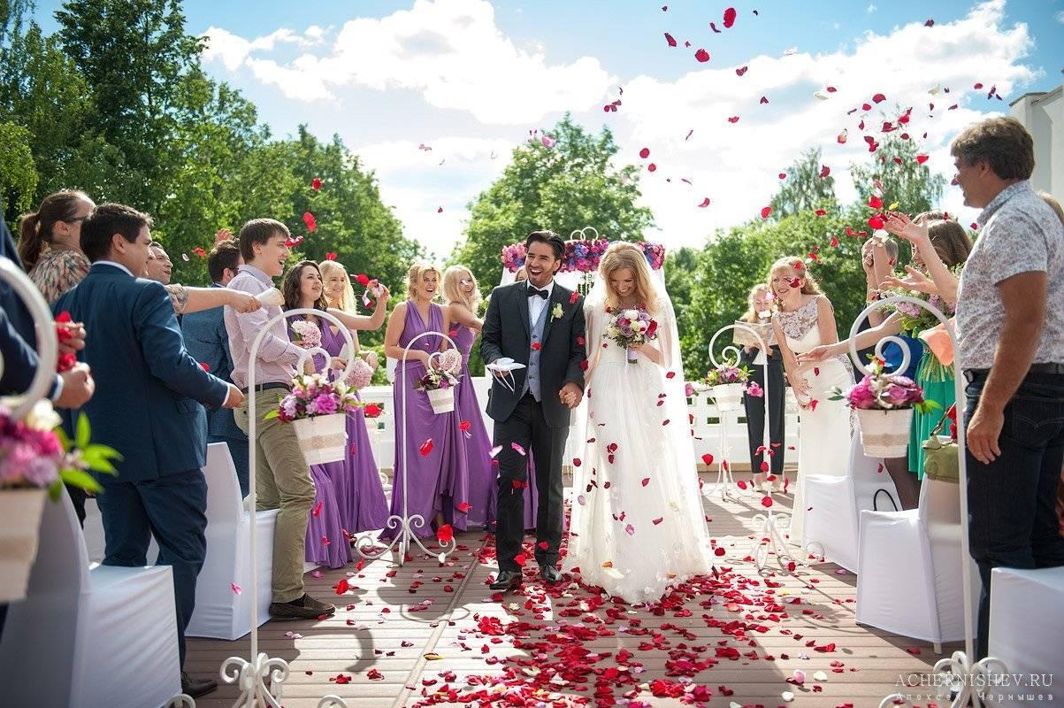 Головокружительный калейдоскоп идей для свадьбы