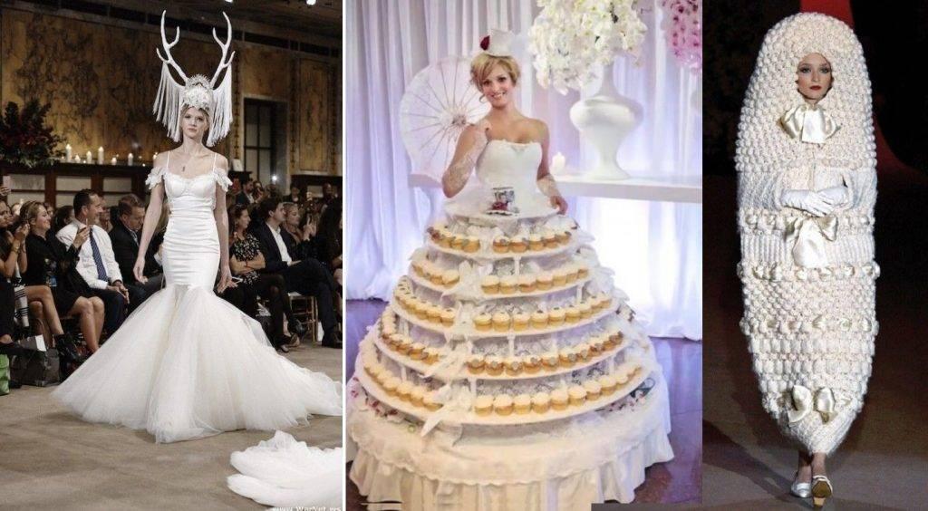 Необычные свадебные платья. А вам слабо?