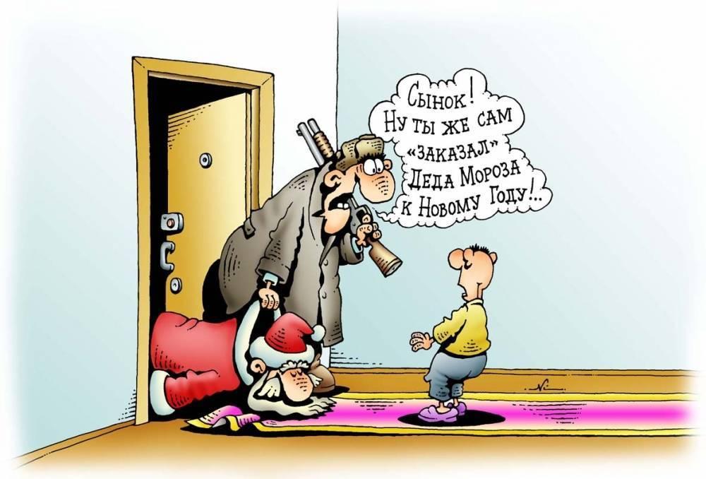 Новогодние анекдоты и шутки