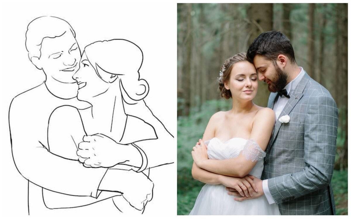 Позы для фотосессий. Секреты удачных свадебных снимков