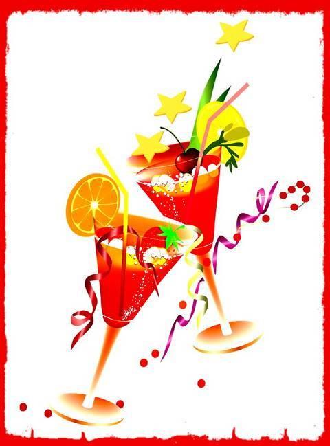 """Сценарий корпоративной развлекательной вечеринки для учителей """"Добрый вечер или Дважды два коктейля"""""""
