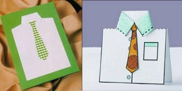 Хотите удивить и порадовать папу в его праздник? Сделайте открытку своими руками!