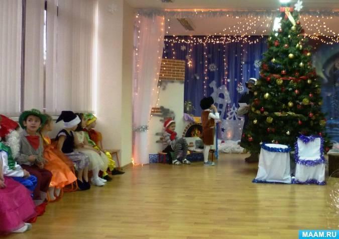 """Музыкальная сказка-экспромт """"Новый год в Простоквашино"""""""