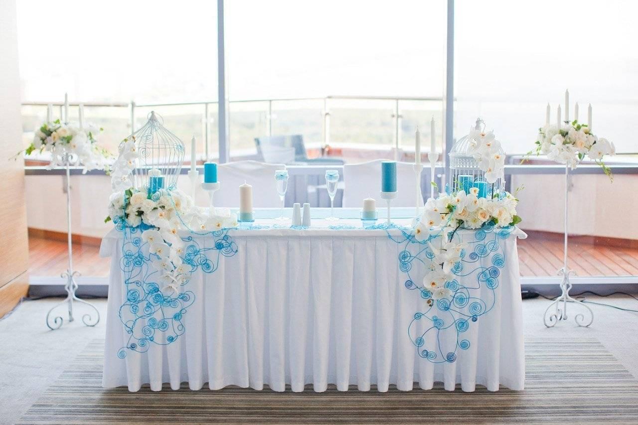 Свадьба в голубом цвете: гармония нежности и чистоты
