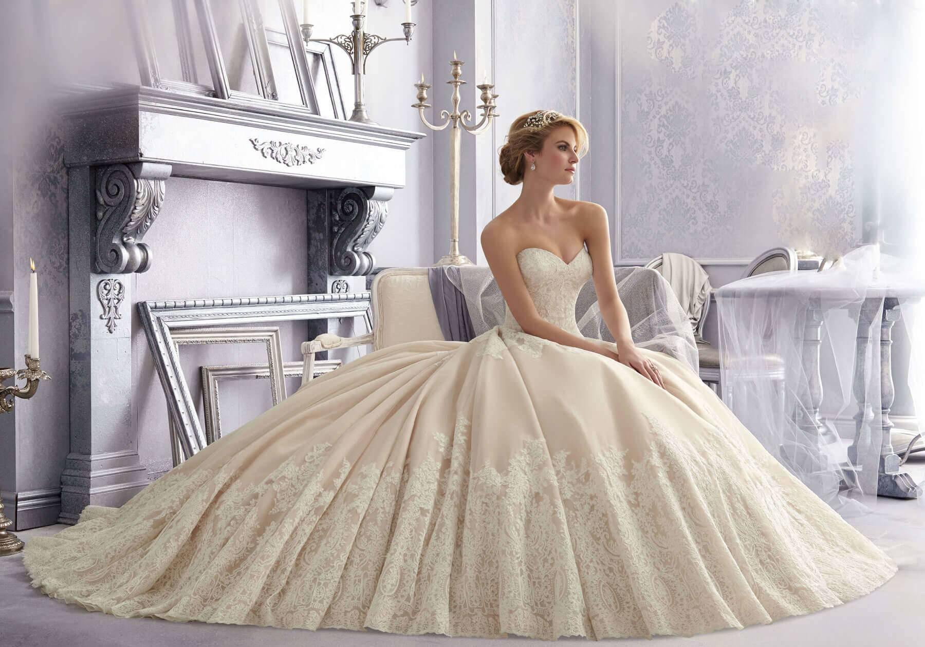 Пышное свадебное платье, или Как стать принцессой?