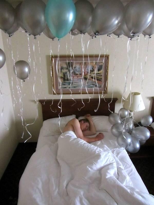 День рождения мужа: включаем женскую изобретательность