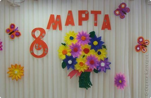 """Идеи сценария праздника 8-е марта """"Мамин мир"""""""