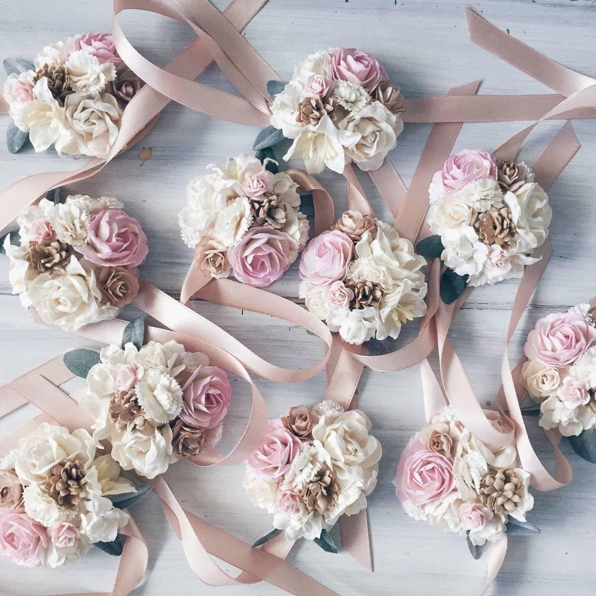 Браслеты для подружек невесты — разрабатываем стиль свадьбы