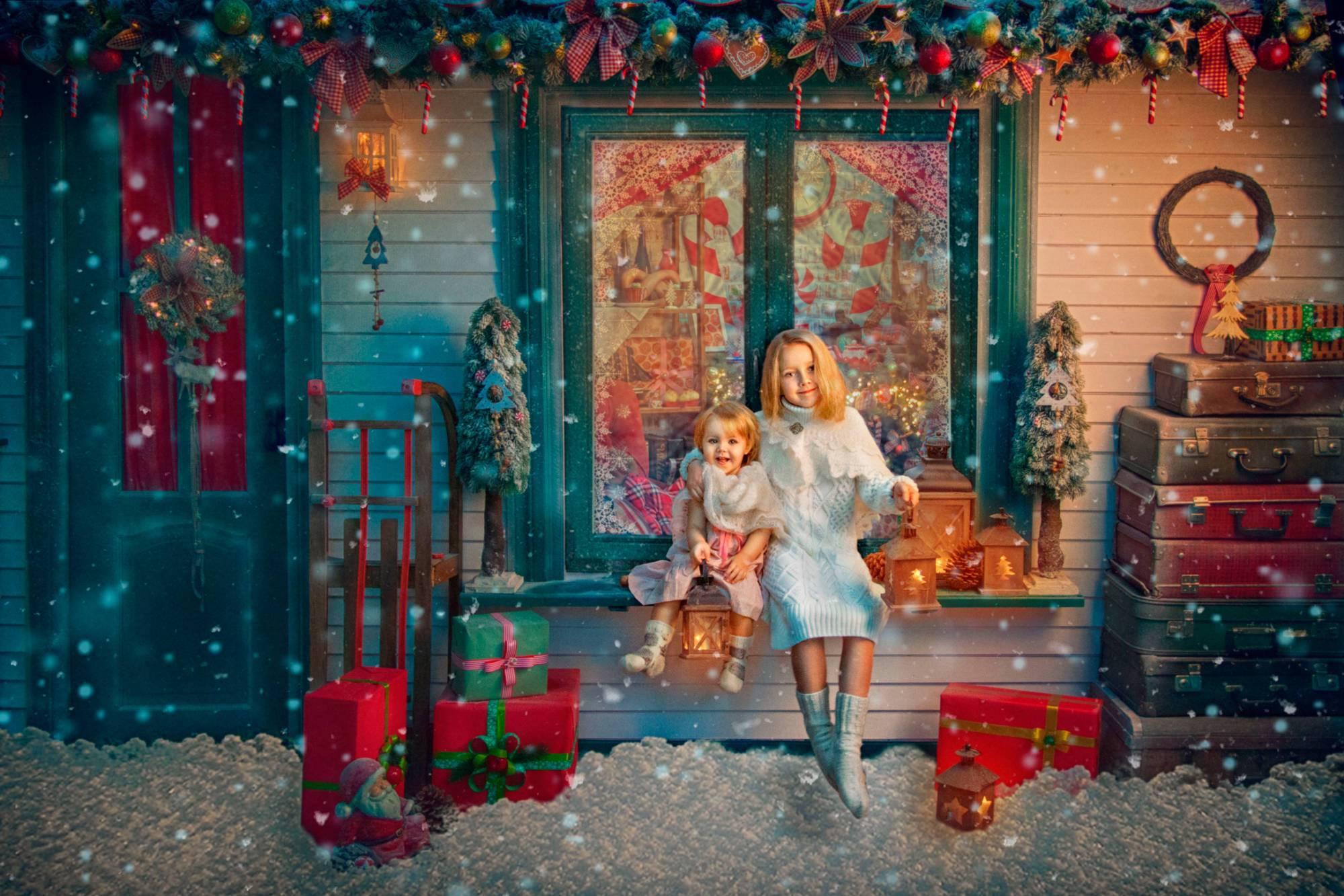 """Сценарий семейного новогоднего праздника """"Сказочные подарки"""""""