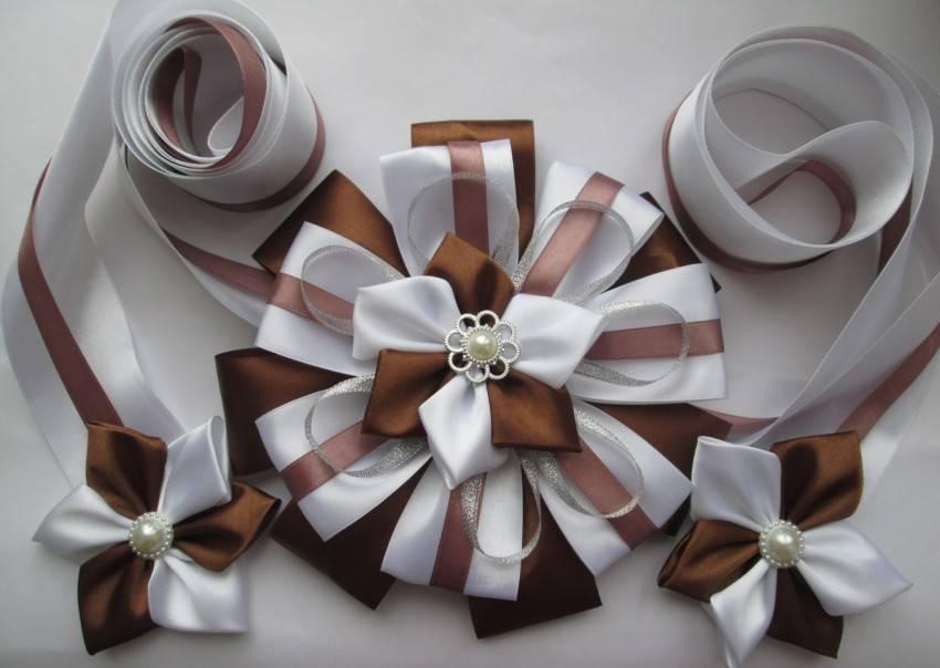 Бант своими руками из ленты — коронный прием упаковки подарков