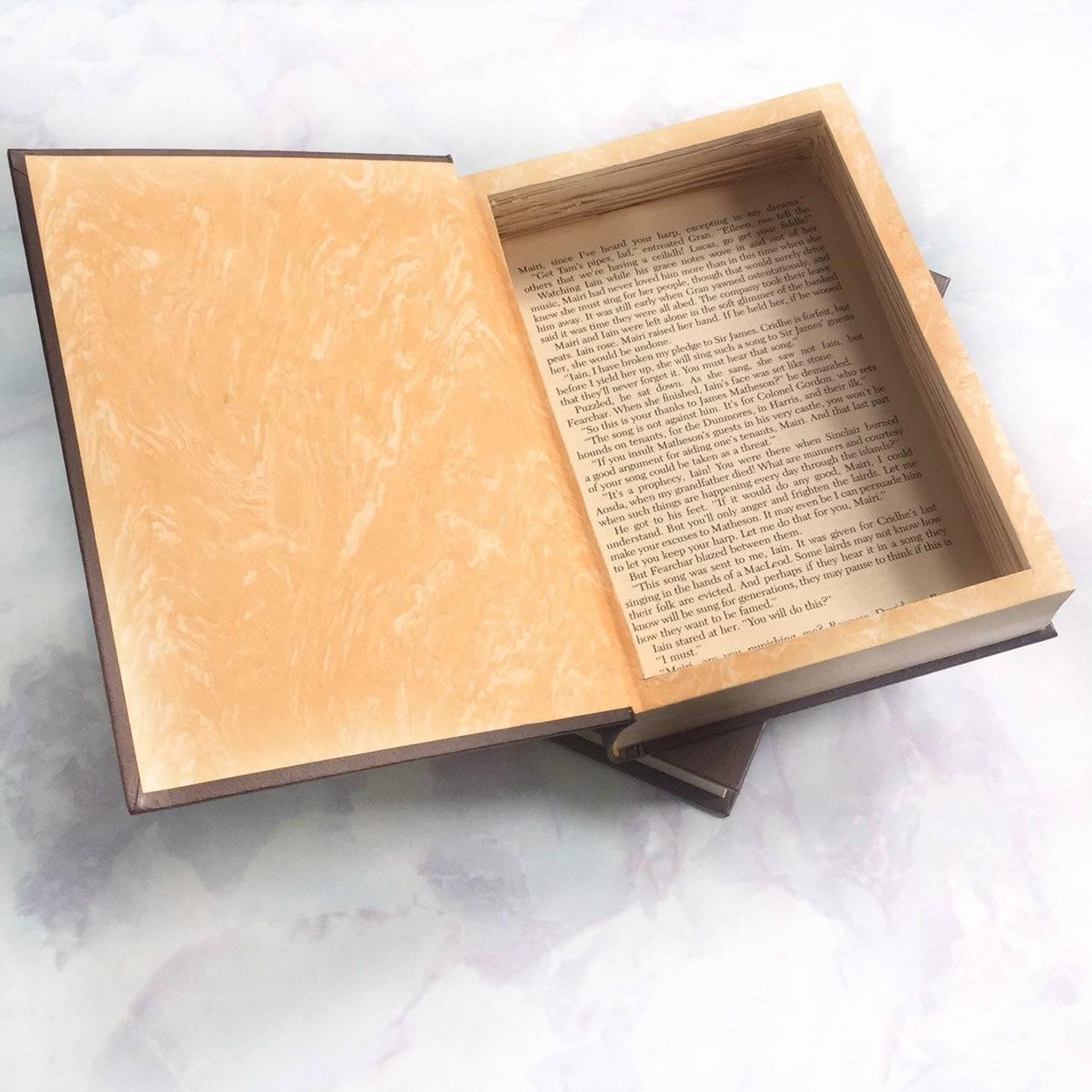 Книга-сейф — для больших и маленьких секретов