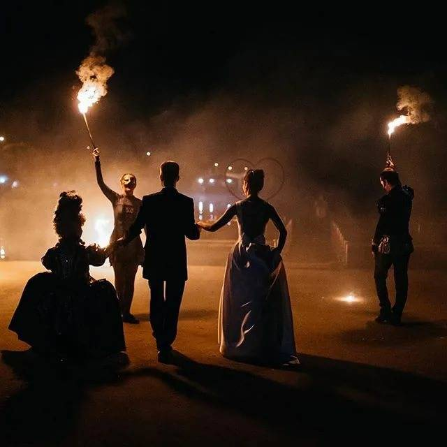 Фаер-шоу на свадьбе, или Укрощение строптивого огня