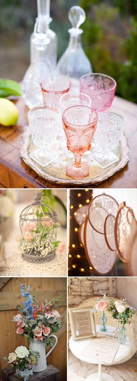 Нежное очарование свадьбы в стиле шебби-шик