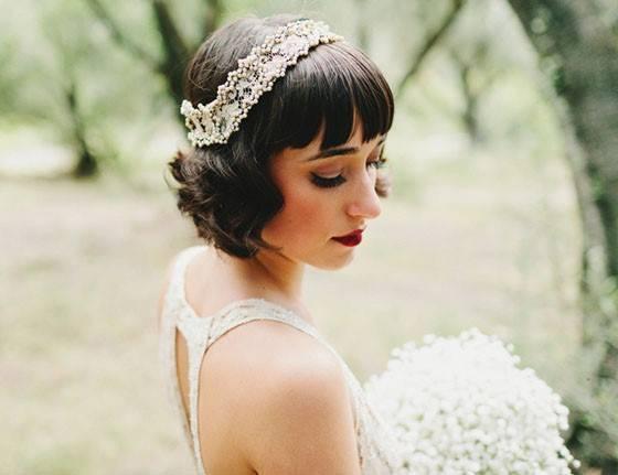 Свадебные прически с челкой – нежные и элегантные образы