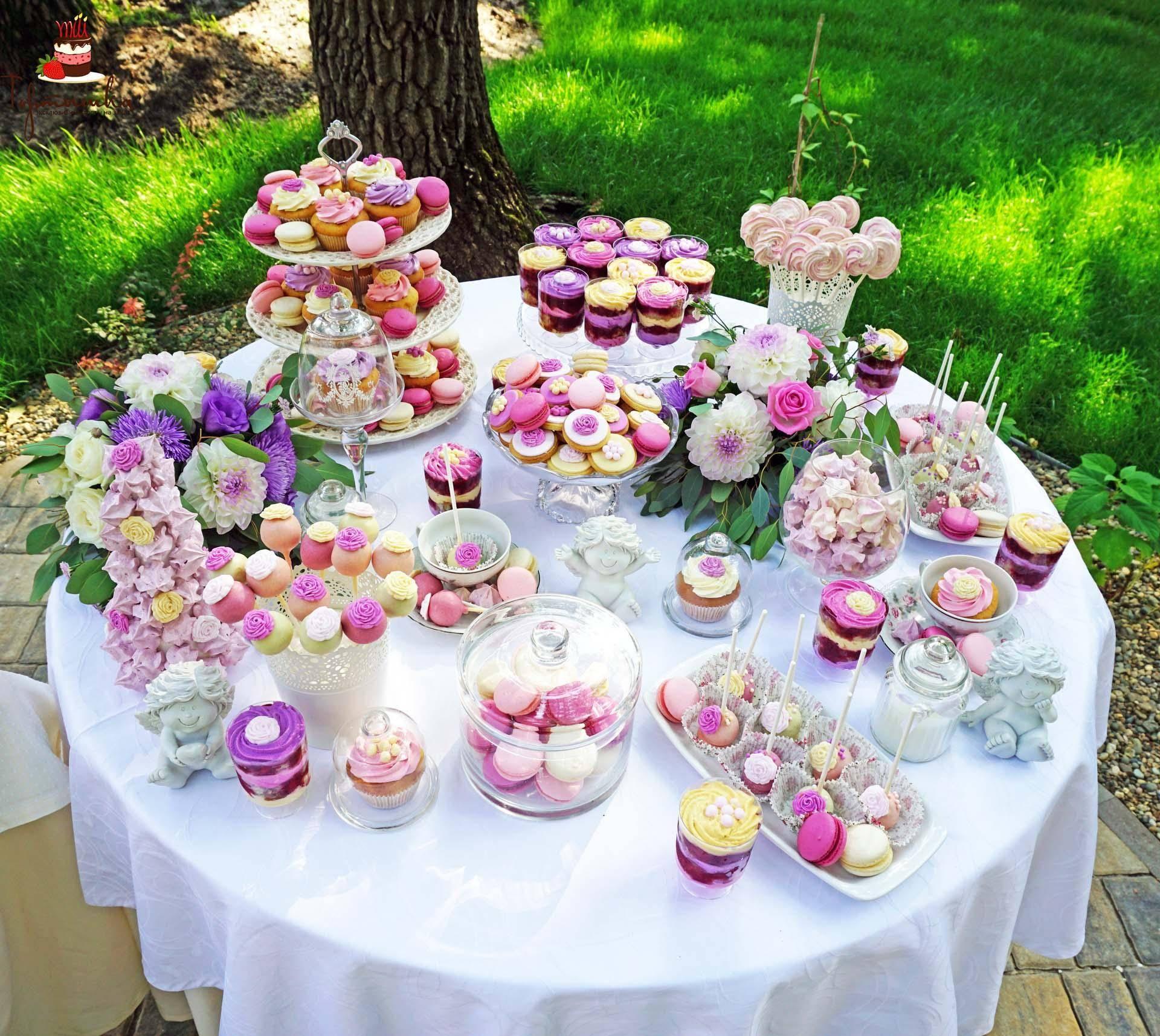 Сладкий стол на свадьбе. Посмотри — как вкусно, попробуй — как красиво!