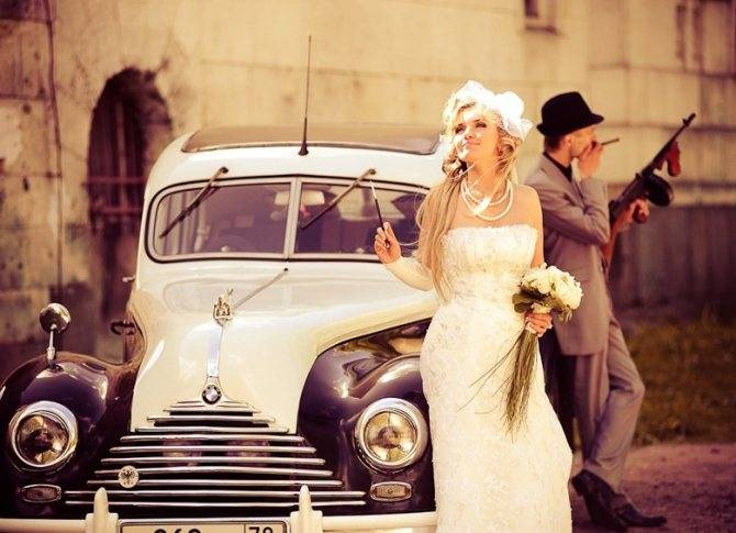 Выкуп невесты в стиле мафии – для тех, кто любит погорячее