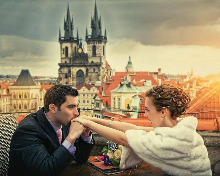 Свадьба в Чехии. Сказочная церемония в самом сердце старинной Европы