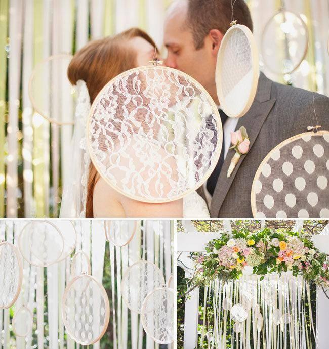Свадебный декор — просто и со вкусом