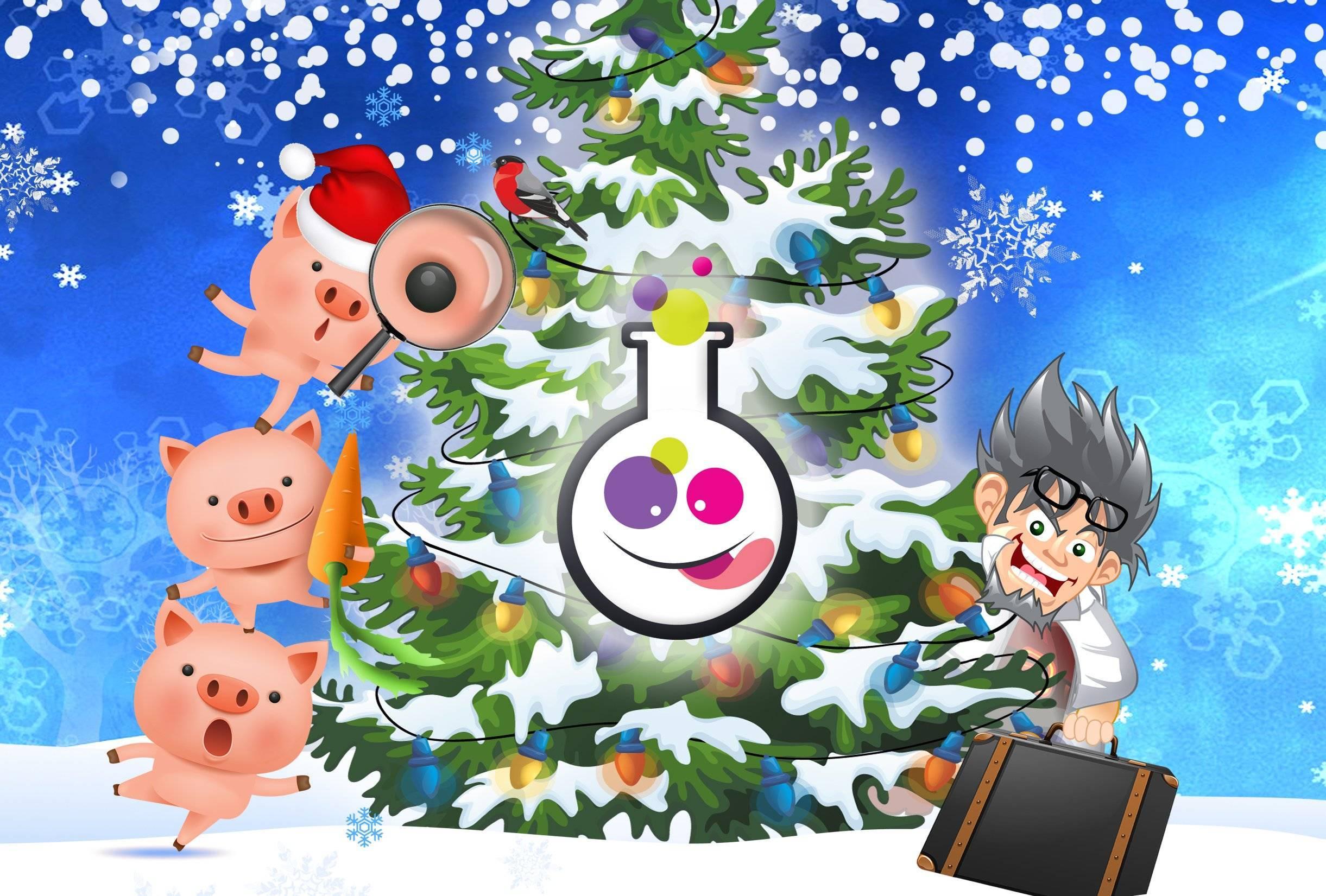 """Новогодняя музыкальная видеоигра для любой компании """"Ёлочка, зажгись"""""""