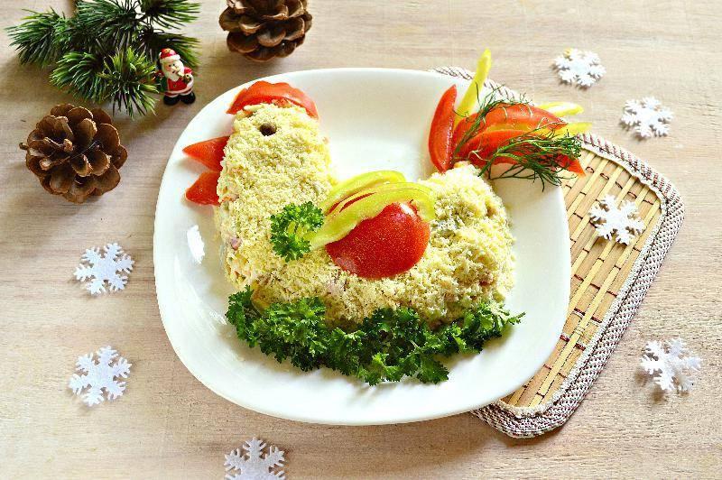 Новые рецепты новогодних салато — мясные, вегетарианские и с морепродуктами
