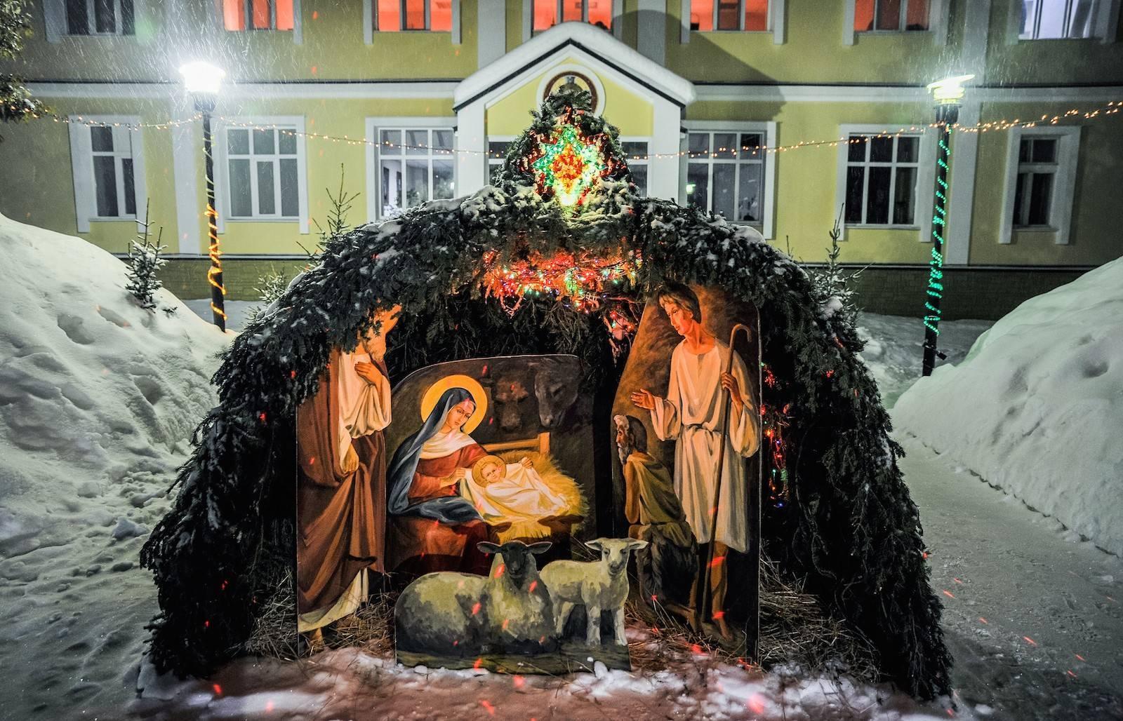 Когда празднуют Рождество в России