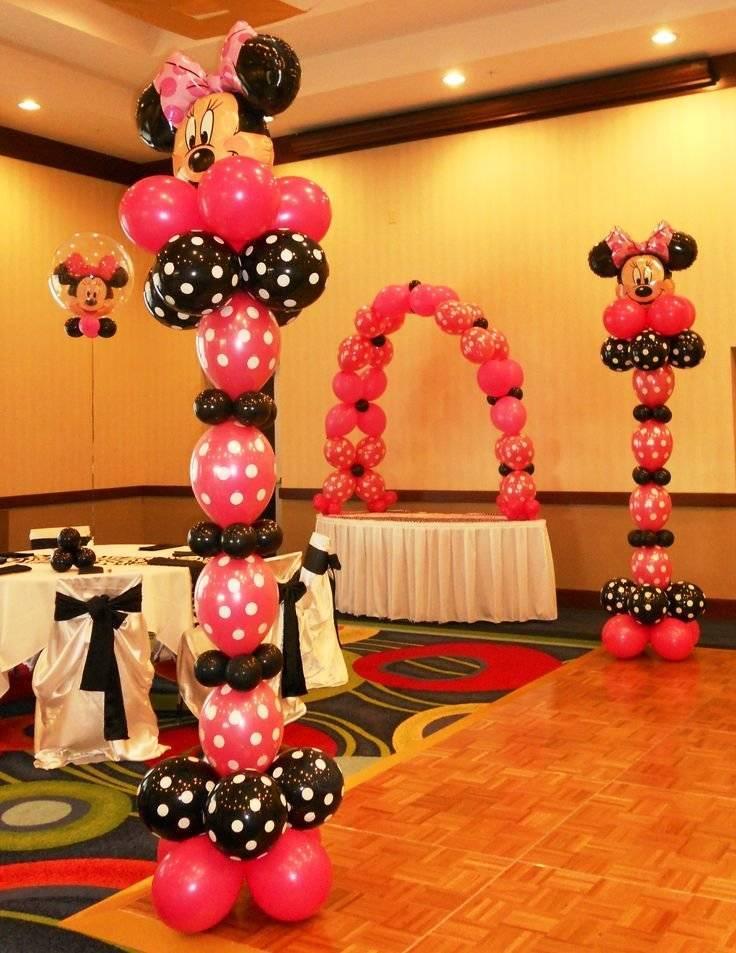 Воздушные шары в качестве праздничных украшений