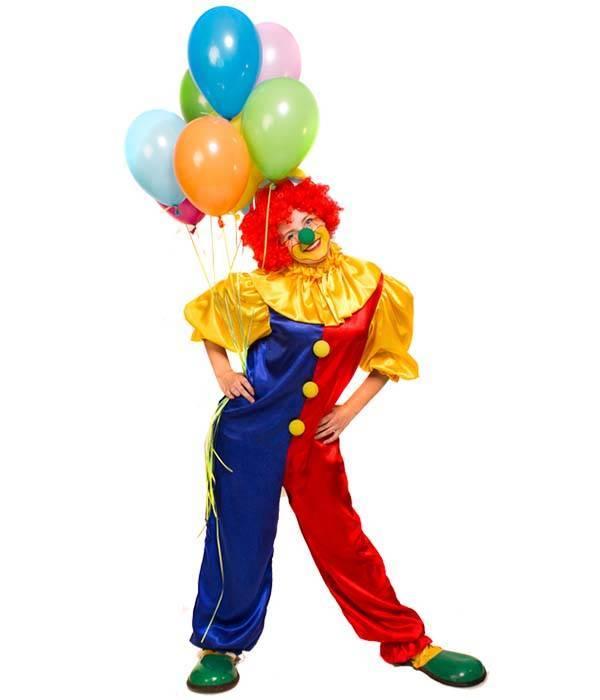 Праздничный сценарий «Клоун Пончик в гостях у именинника»