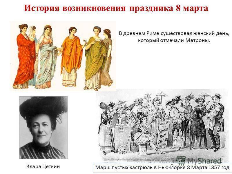История праздника 8 Марта — от древних времен до современности