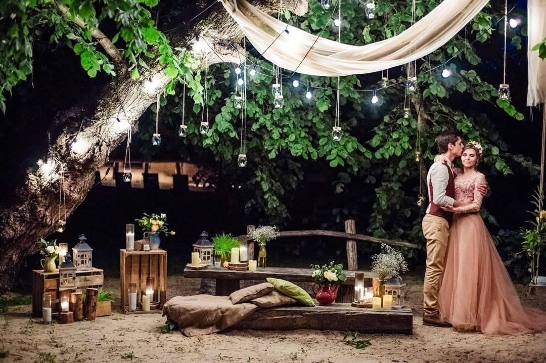 Фотозона — веселый аттракцион и неотъемлемая часть свадебного антуража