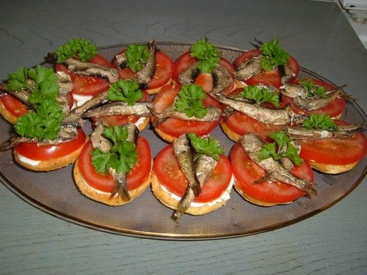 Новогодние рецепты бутербродов