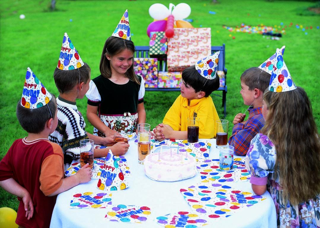 День рождения с детьми — чтобы всем было весело