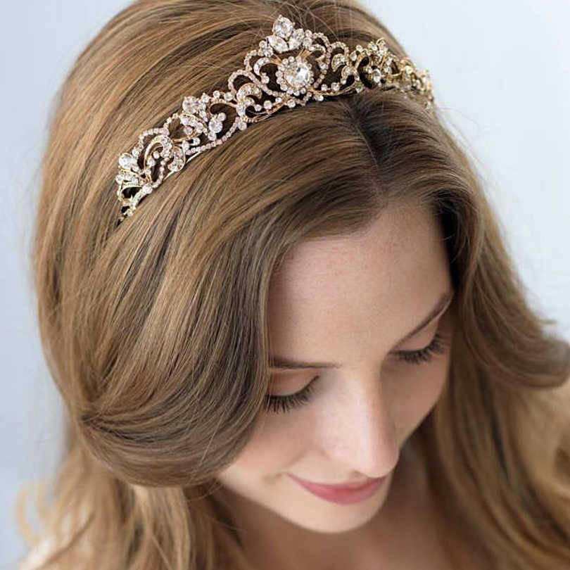 Диадема для невесты — благородство и красота