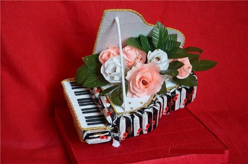 """Оригинальное поздравление с сюрпризом для музыкального работника """"Мелодия жизни"""""""
