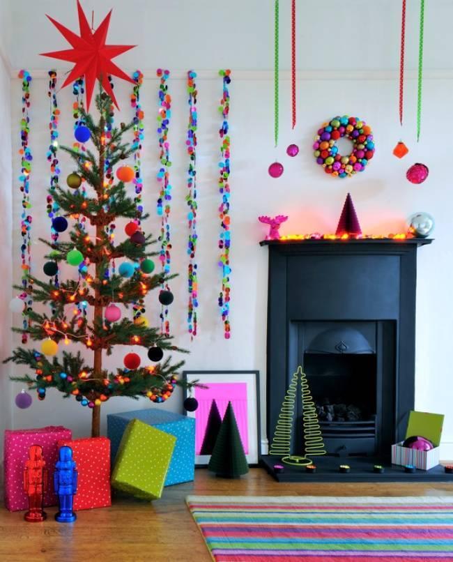 Праздник к нам приходит — Новогодний дизайн комнат